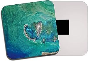 Destination Vinyl Ltd Caspian Sea Fridge Magnet - Lake Europe Asia Geography Geology 13111