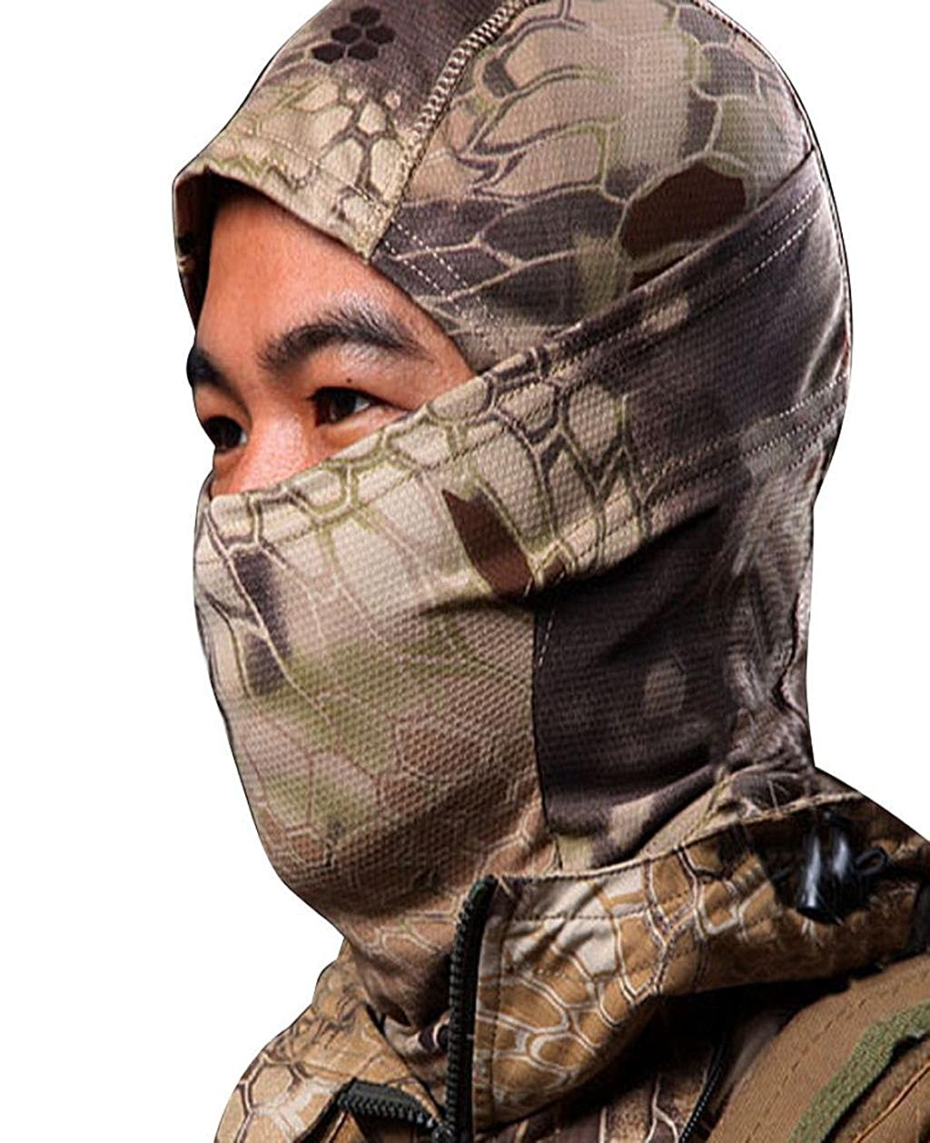 Sports Tenworld 1PC Camouflage Army Cycling Motorcycle Cap Balaclava Hats Full Face Mask Tenworld-01002