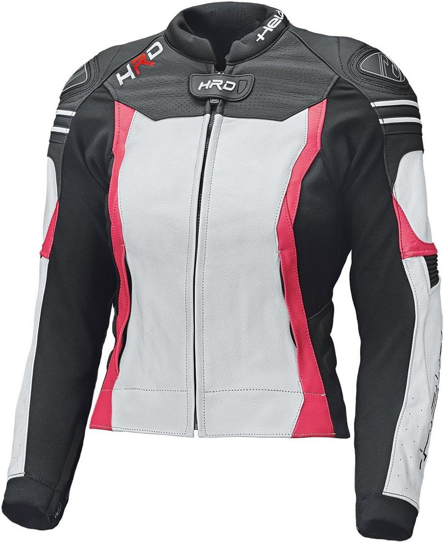 Held Street 3.0 Giubbotto moto in pelle donna Bianco//Pink 36