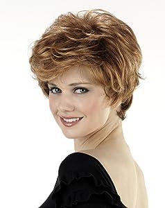 Tony of Beverly Womens Synthetic Wig ''Dion''-30: Medium Auburn