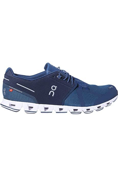 on Running Mens Cloud Shoes Blue/Denim