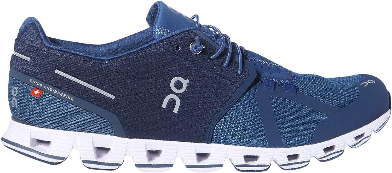 on Running Mens Cloud Shoes Blue/Denim (8.5 M US)