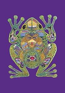 "Toland Home Garden 109609 Animal Spirits-Frog 28 x 40 Inch Decorative, House Flag-28"" x 40"""