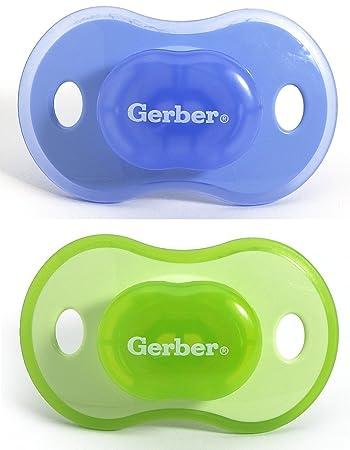 Amazon.com: Gerber First Essentials Calmante Chupete, 6 – 18 ...