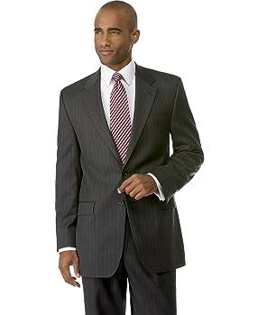 Ralph Lauren Total Comfort Grey Pinstripe Wool Sportcoat 42 Regular 42R