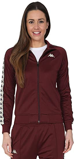 949f399d Kappa Women's Wanniston Zip Front Track Top: Amazon.co.uk: Clothing