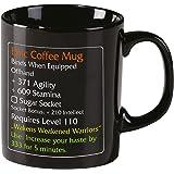 Epic Mug tasse café épique Level 110 MMO Item pour fans - Noir - Elbenwald