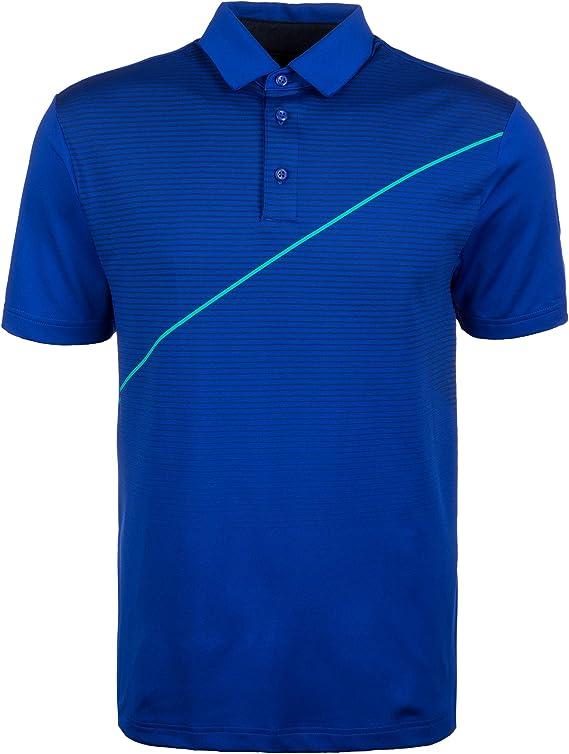 Under Armour UA Playoff Camisa Polo de Golf, Hombre, Royal/Royal ...
