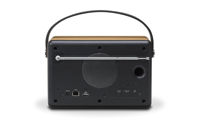 Roberts Radio Port/átil, Anal/ógico y Digital, Dab,Dab+,FM, De 3 v/ías, 802.11b,802.11g,Wi-Fi 4 , 3,5 mm 802.11n