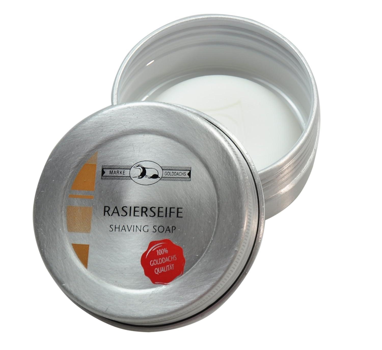 Pfeilring Golddachs Shaving Soap Aloe Vera in Aluminium Box, Pack of 1 7653155714