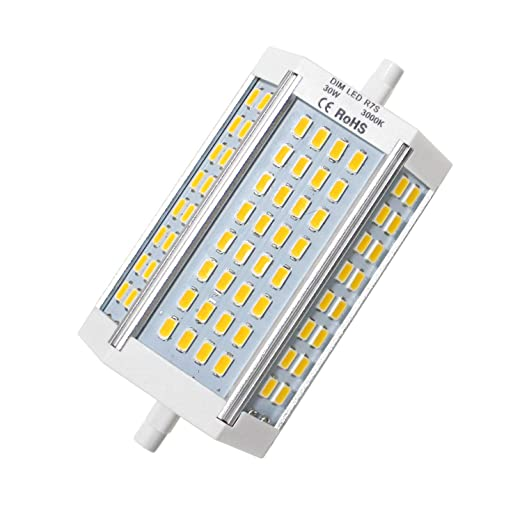 J Type Light Bulb Floodlight R7s Flood Bulb J118 White Lights Bulbs,Warm Linear Halogen 30W Replacement 30W 250W Mechok Dimmable 200 LED LED 118mm rQxhCtsd