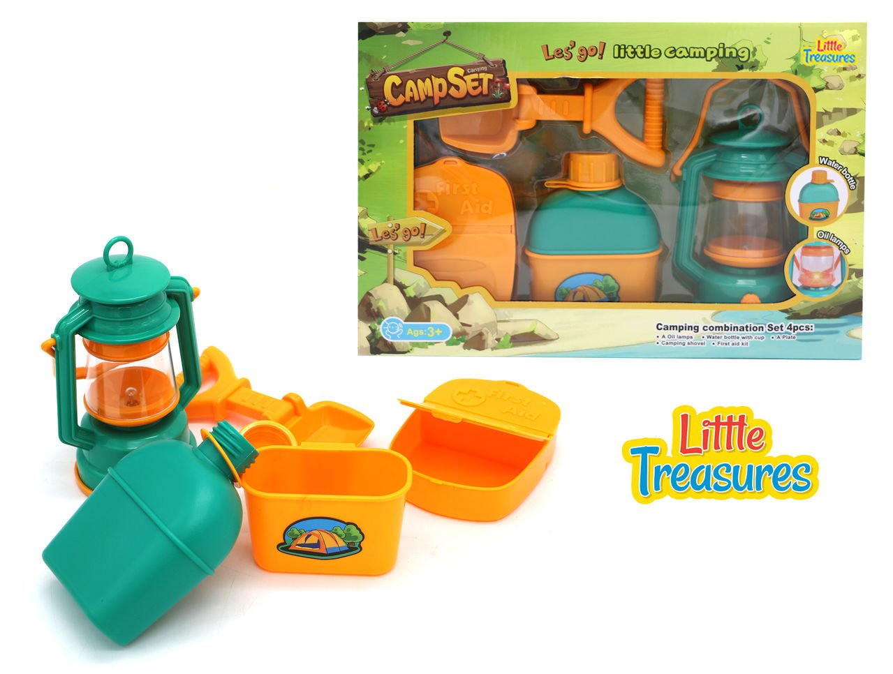 Camp Set for Little Campers Camping Set for Adventurous Boys and Girls who Love Being Outdoors and Pretend Play Camping at Home