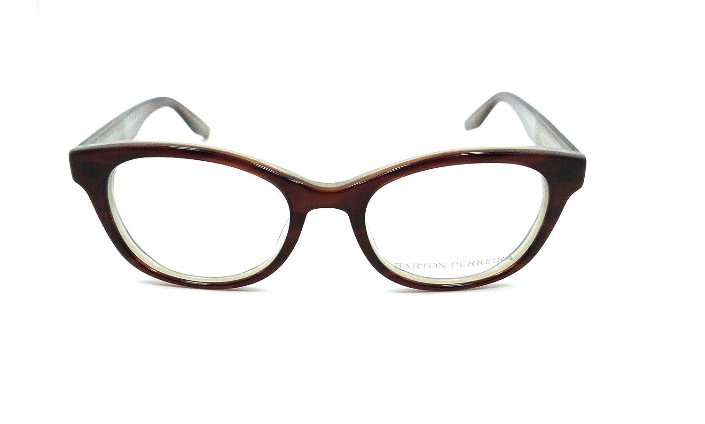 Barton Perreira Rita Eyeglasses Frames 48-18-140 Jamaican Rum Cream Women