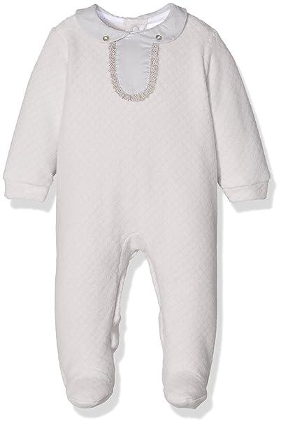 BABIDU Tundosado, Pelele para Dormir Bebe-Unisex, Gris, 3 meses