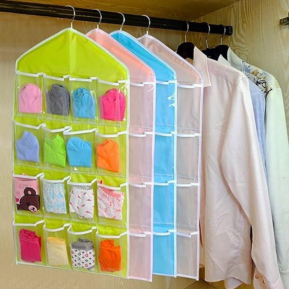 Chevron tela Baby Nursery Organizador de armario para los ...