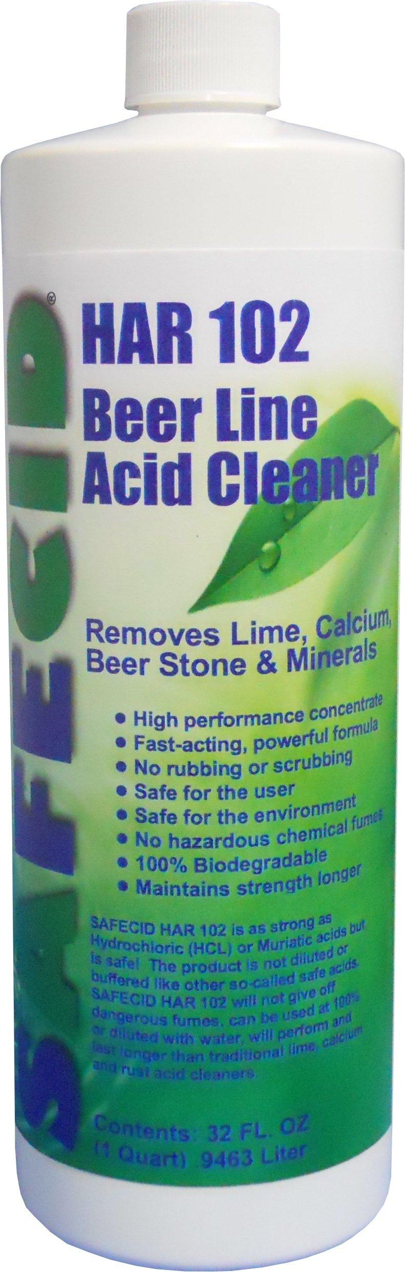 Beer Line Acid Cleaner (12 Pack Quarts)