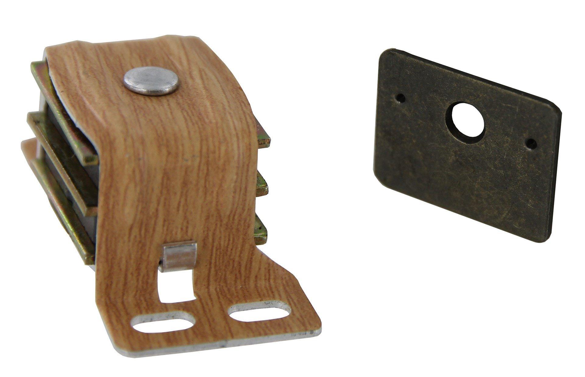 Amerock BP9798AW 1'' Wood Grain Finish Magnetic Catch