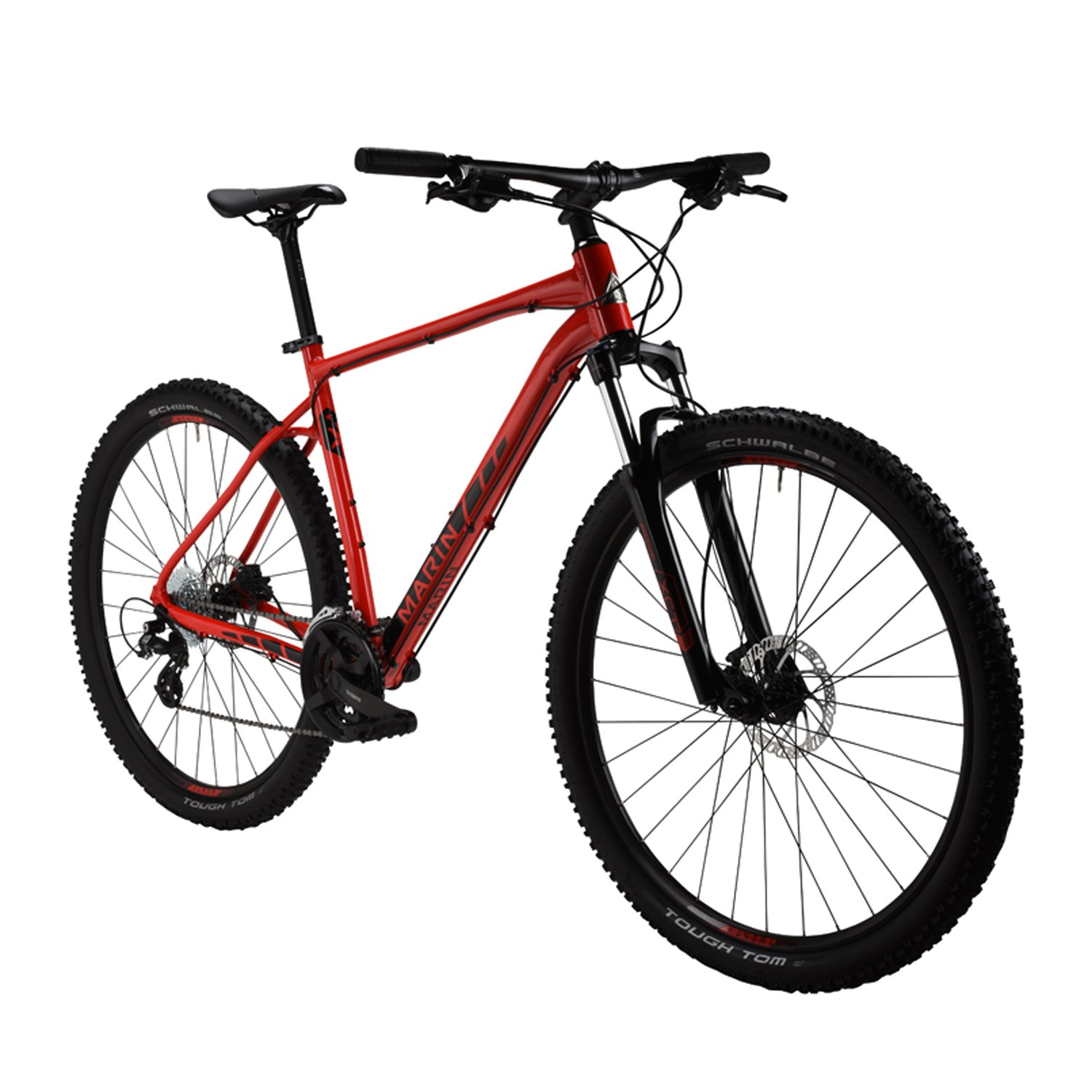 Marin Rock Spring 1 Mountain Bike – 2017パフォーマンスExclusive B06Y5MY1GD XLarge|レッド レッド XLarge