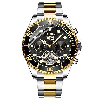 Amazon.com: Tourbillon - Reloj de pulsera mecánico ...