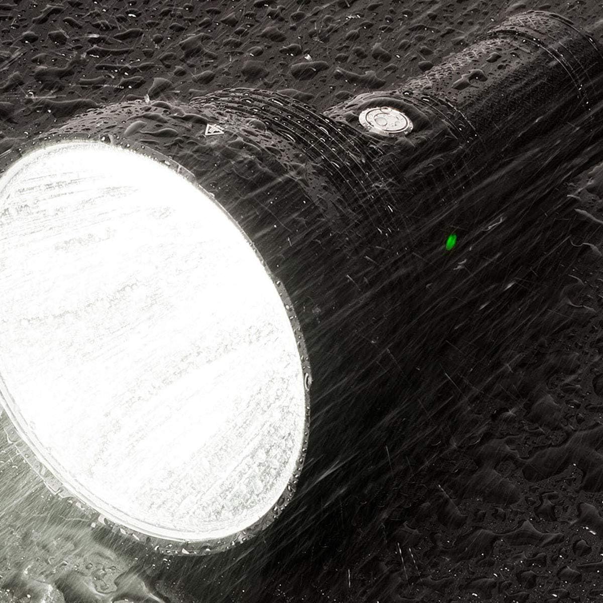 bater/ía incluida 6300 l/úmenes s/úper brillante linterna LED ACEBEAM K75 linterna ultra larga de 2500 metros