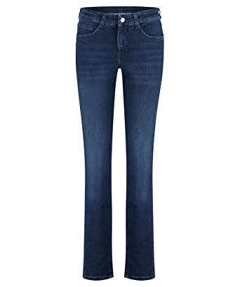 MAC Angela Damen Jeans D845 New Basic Wash Slim Fit