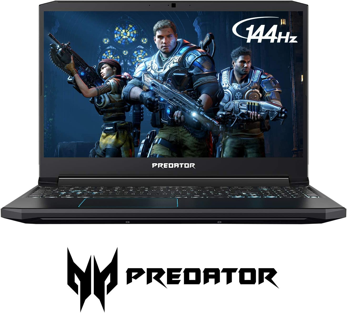 "2019 Acer Predator Helios 300 Gaming Laptop, 15.6"" FHD 144Hz 3ms IPS Display, 9th Gen Intel 6-Core i7-9750H Upto 4.5GHz, GTX 1660 Ti 6GB, 32GB RAM, 1TB PCIe SSD + 1TB HDD, Backlit Keyboard, Windows 10"