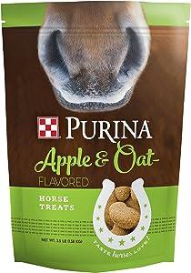 Purina Trea Apple and Oat Flavored Horse Treats, 3.5 lb Bag