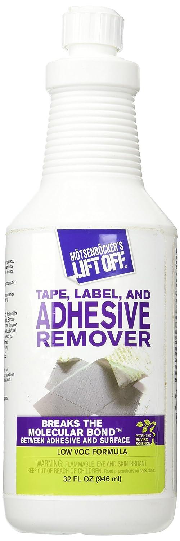 MOTSENBOCKER LIFT-OFF 40703 Tape, Label, and Adhesive Remover, 32 fl. oz, 1 Pack Motsenbocker' s Lift Off MTS 40703