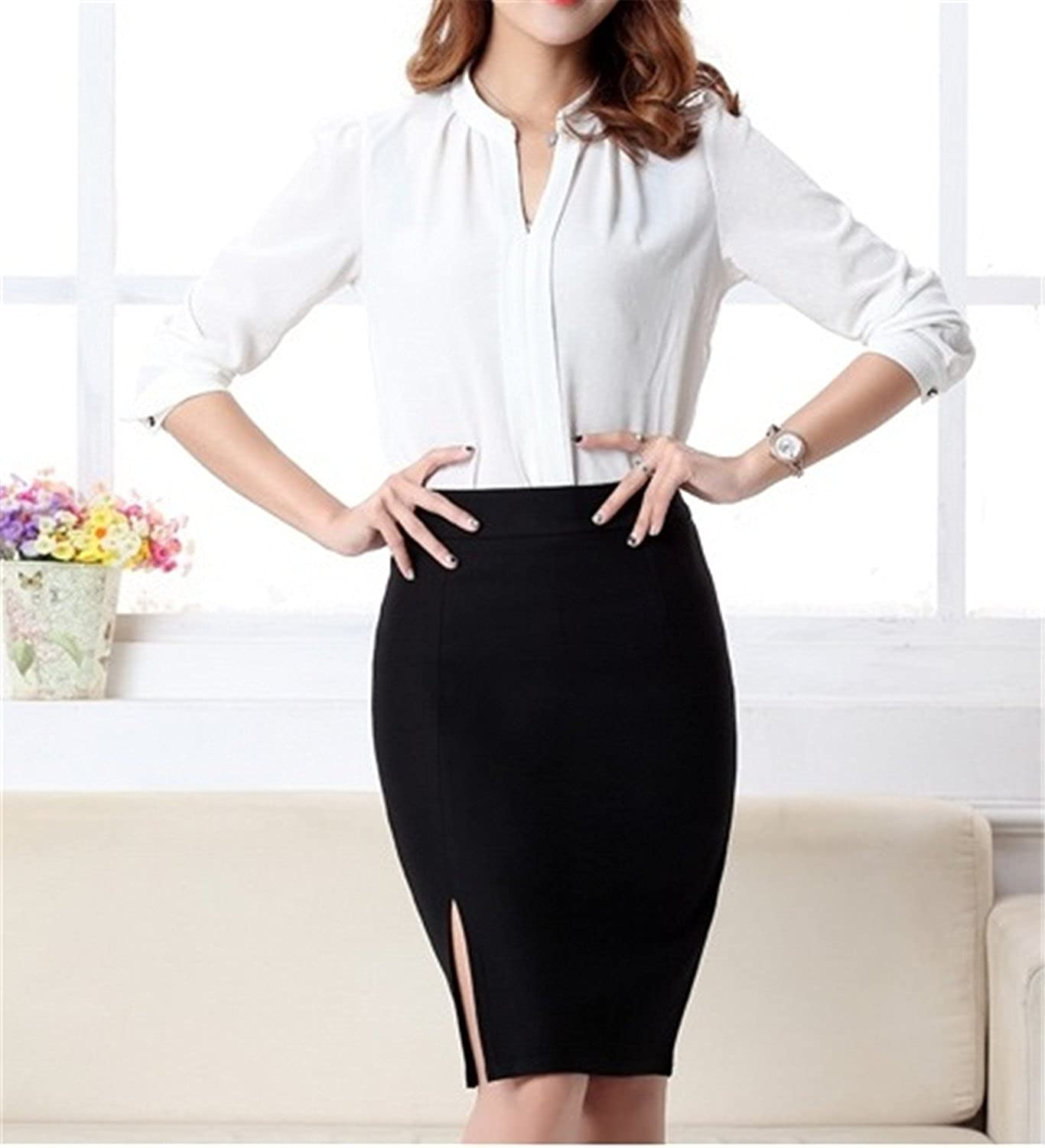 5d8eedc49 James Torr Comfotable Sexy 2017 New Arrival Fashion Women Formal Work Wear  Skirts Ladies Sexy High Waist Mini Pencil Skirt 3 Colors Plus Size Bottom  5602 ...