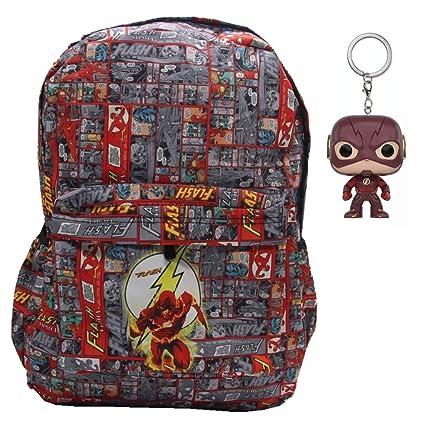 DC Flash Superhero Comic Bookbag - Mochila Impermeable para ...