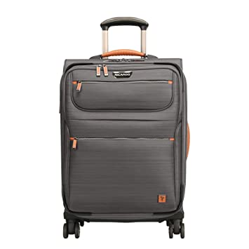 a6f396162bc Amazon.com   Ricardo Beverly Hills San Marcos 21-inch Carry-on Spinner,  Gray   Carry-Ons