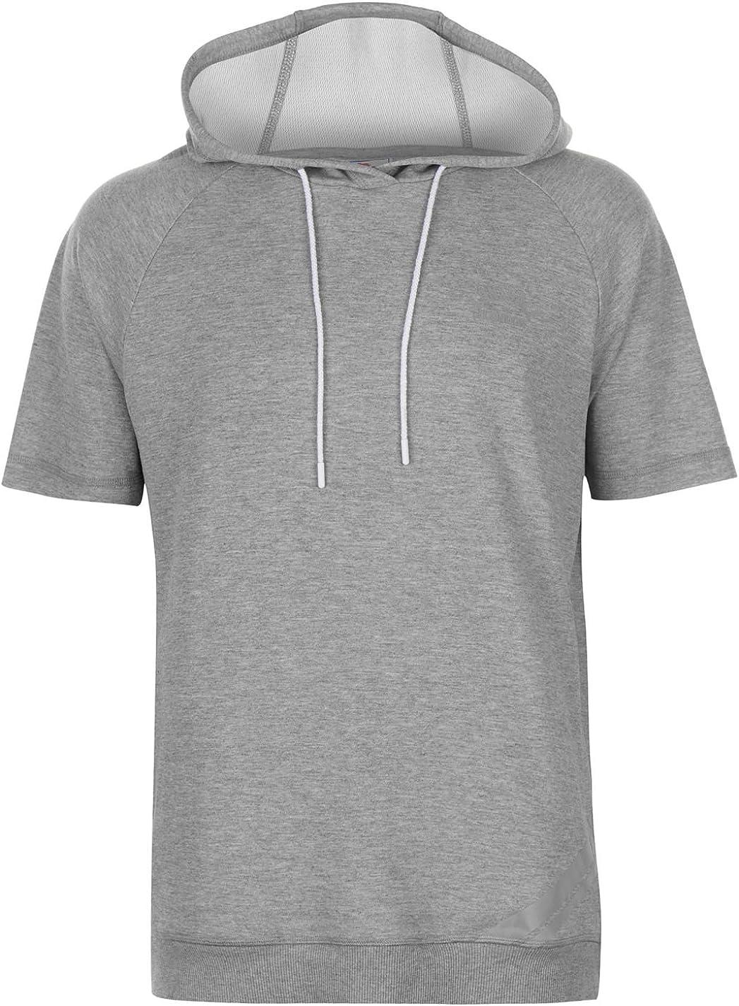 Lonsdale Sweat Shirt à Capuche Homme Gris XL: Amazon