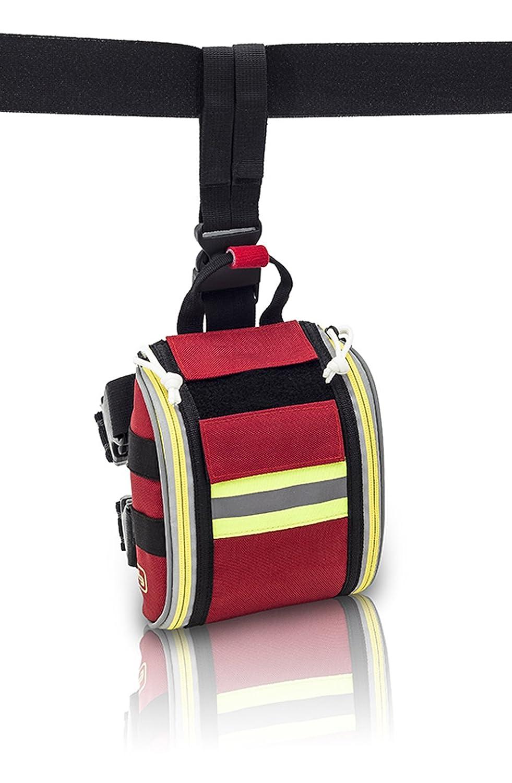 ELITE BAGS RED FAST'S Botiquí n pernera de acceso rá pido para grandes intervenciones (rouge) EB02.031
