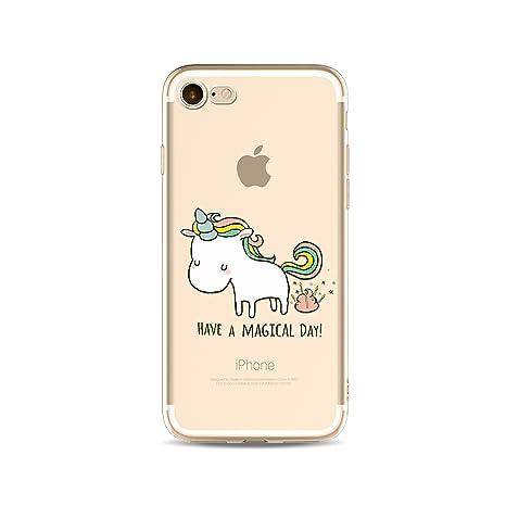 coque iphone 8 transparente leopard