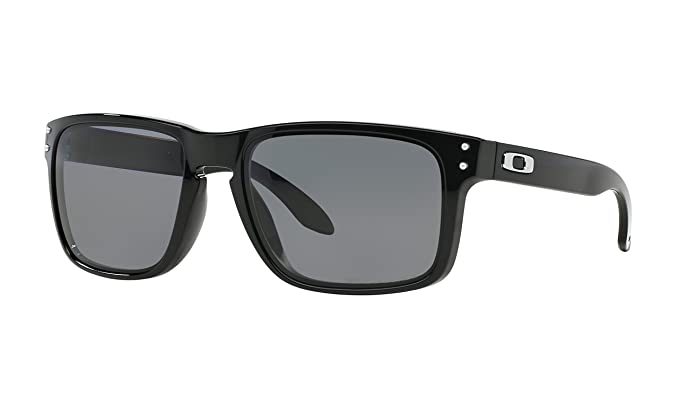 a8d61d5cf4294 Image Unavailable. Image not available for. Colour  Oakley HOLBROOK™  OO9102-02 Black POLARIZED Sunglass for Men Women
