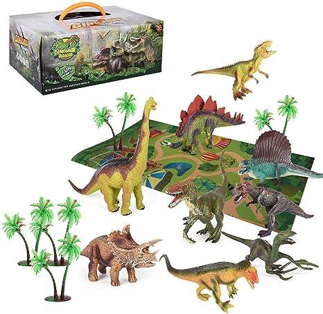 Giocattoli Il meraviglioso mondo degli animali Dinosauri 6 pezzi