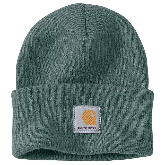 e6696aaffd0720 Carhartt Men's Acrylic Watch Hat A18, Balsam Green, One Size at ...