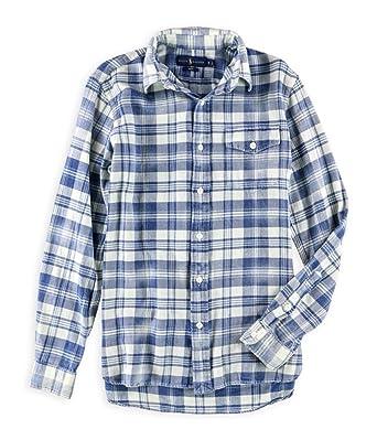 246836951 RALPH LAUREN Polo Men s Twill Long Sleeve Plaid Sport Shirt