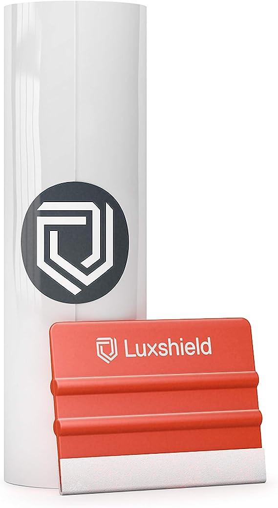 Luxshield Lackschutzfolie 18x100cm Für Auto Motorrad Bike Schutzfolie Transparent Selbstklebend Meterware Aus De Auto