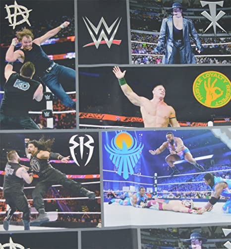 WWE Wallpaper Wrestling Superstars USA Raw Smackdown Kids Multi