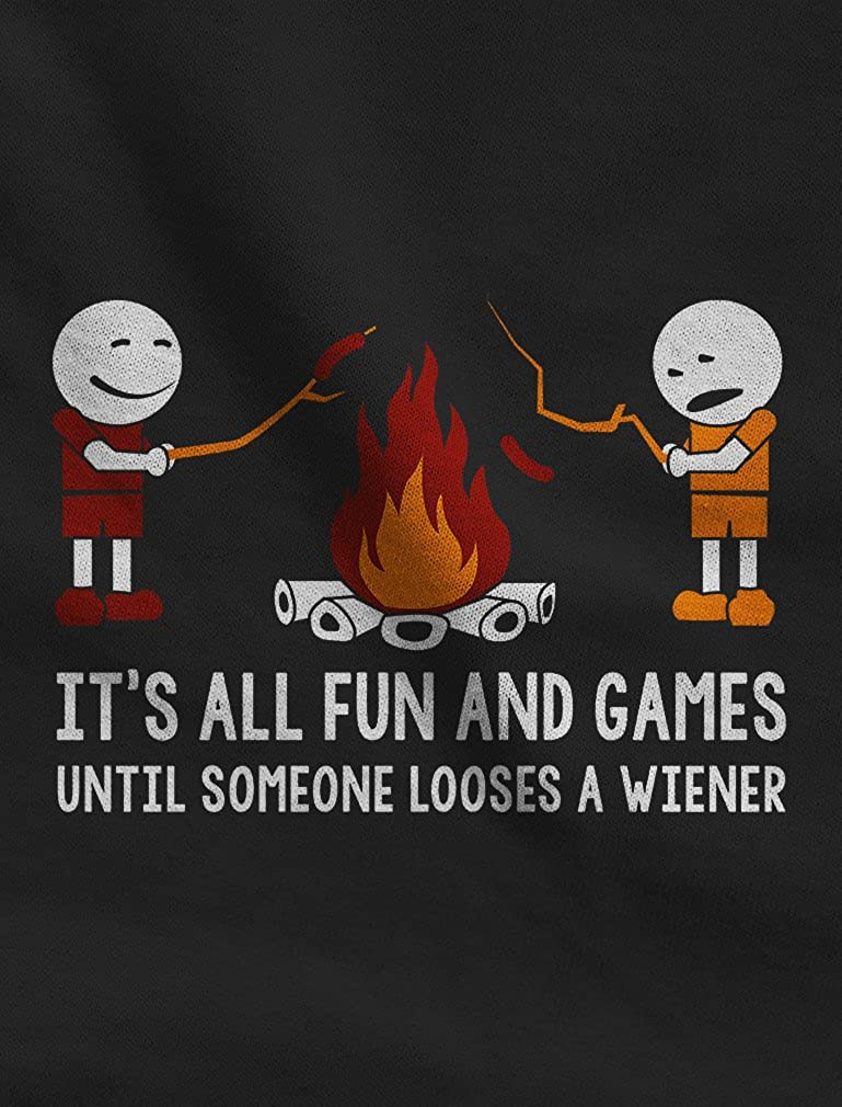 Its All Fun and Games Until Someone Looses A Weiner Singlet TeeStars