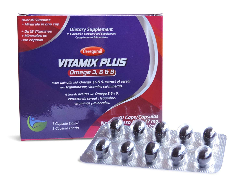 FERNANDEZ Y CANIVELL, S.A. Vitamix Plus Omega 3.6.9: Amazon.es: Salud y cuidado personal