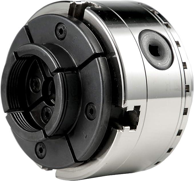 Accessoires pour perceuses 12,7 cm peut /être mont/é sur le c/ôt/é de travail dune broche de tour CNC pour le serrage des arbres suspendus VEVOR Mandrin porte-pince D1-5 5C Mandrin de Tour 6000 RPM