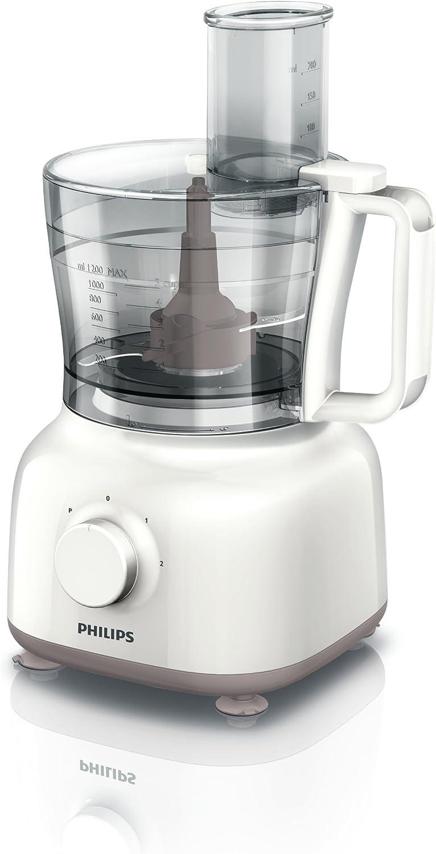 Philips HR7628/01 Daily - Robot de cocina, 650 W, color beige + ...