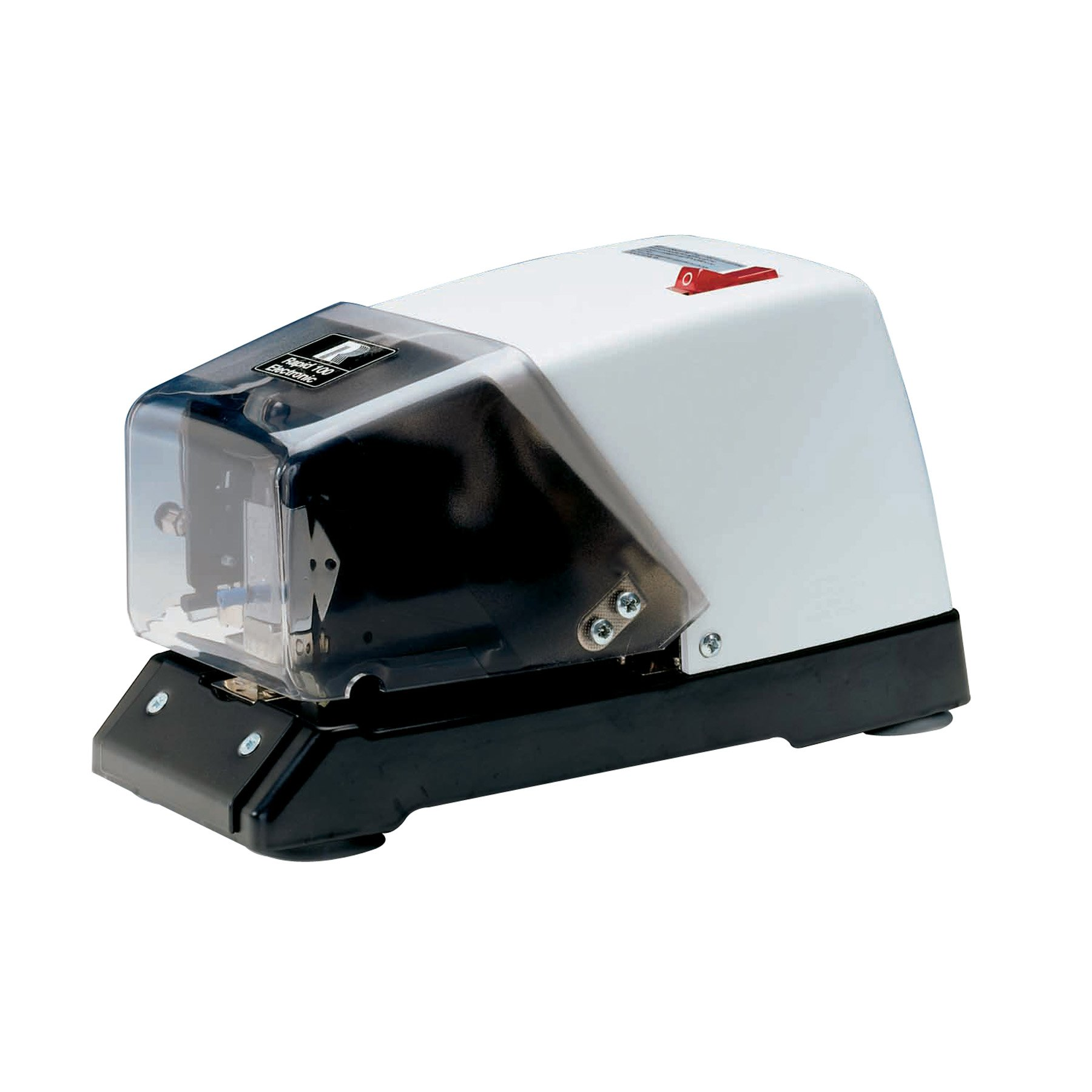 Rapid 100E Electric Stapler, Black and White (2044)