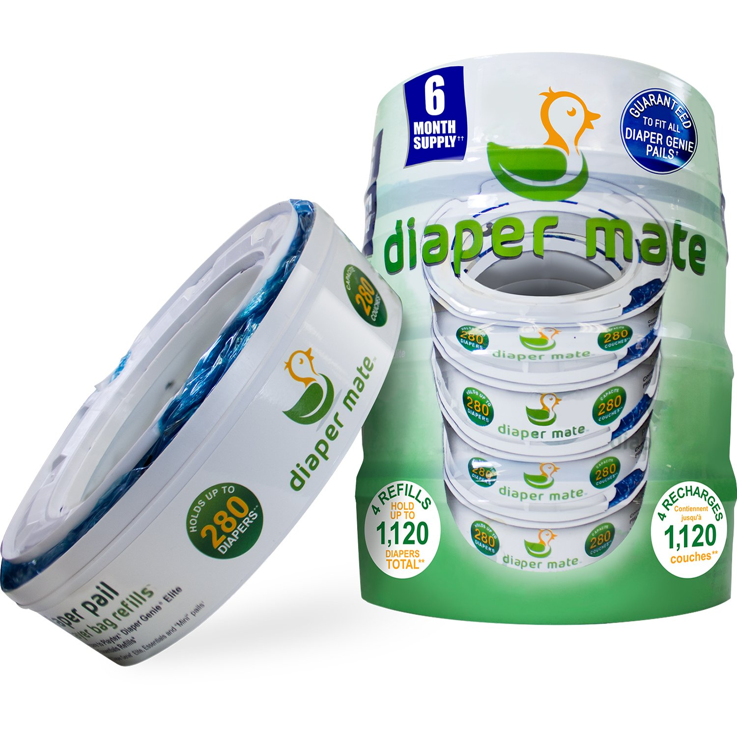 Crib for sale bacolod - Diaper Mate Refill For Diaper Genie Diaper Pails 4 Pack