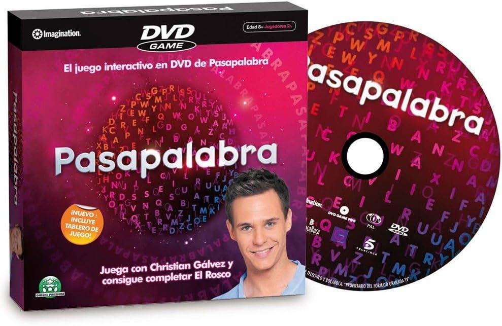 Giochi Preziosi 819 Pasapalabra DVD: Amazon.es: Juguetes y juegos