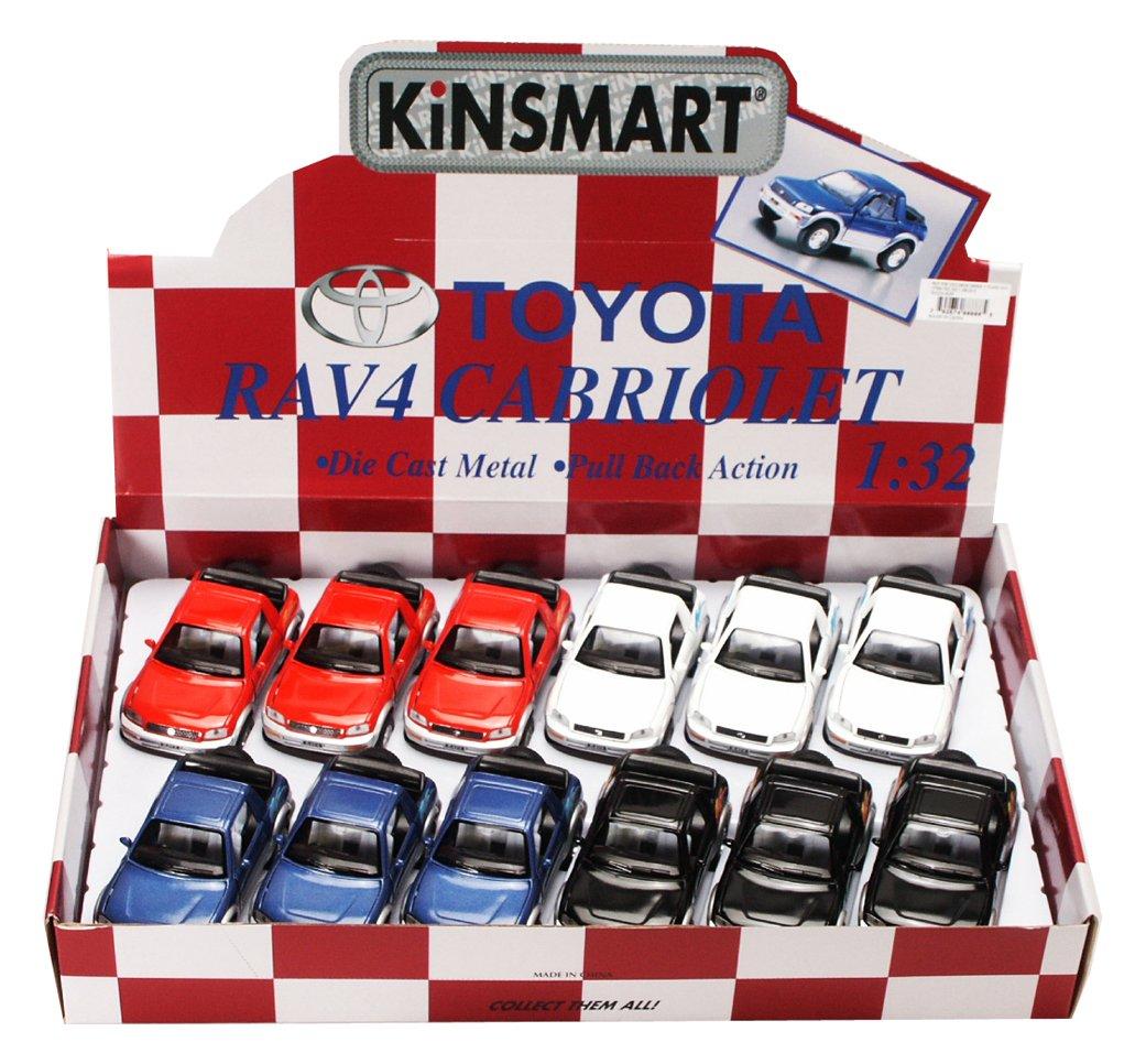 Amazon Com Kinsmart Toyota Rav4 Cabriolet Diecast Car Package Box
