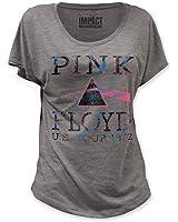 Pink Floyd–Donna U.S. Tour 1972Dolman maglietta in grigio melange