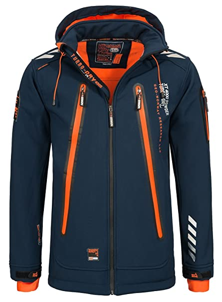 Amazon.com: Geographical Norway Softshell - Chaqueta para ...